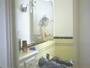 Angelina Jolie under the shower