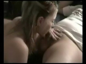 Cute girl giving some nice blowjob