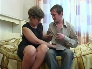 Mother has anal sex with own son