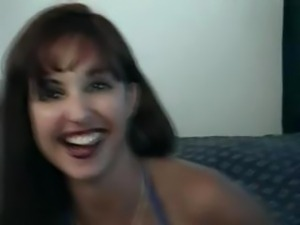Hot little redheaded MILF goes from the casting couch to the fucking bed