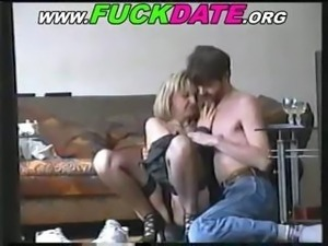 Mature Russian amateur couple are getting with it on hidden cam