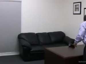 Incredible Red Head Soccer Mom- Casting Couch