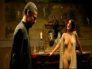 Gabriela canudas in hot nude scenes from otilia rauda
