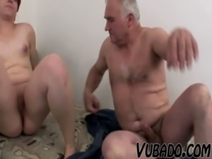 FAT TEEN FUCKS WITH OLD GUY !! free