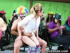 Women Throw Stagette Party In A Barn With Male Strippers