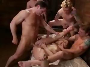 Brutal BDSM Double Penetration Gangbang! vol.3 By: FTW88