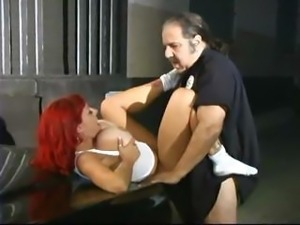 Officer Ron Jeremy Busts Whitney Wonders