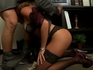 Mick decides to teach his secretary