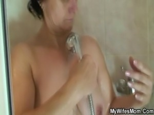 Wife going mad when catches her man fucking mother in law