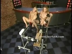 Indonesian prostitute masturbates with vibrator and fucking machine in...