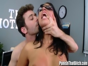 Eva Angelina Rough Sex with Bos ... free