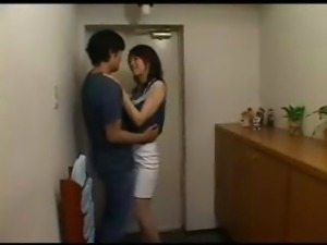 Japanese Housewife Caught Cheating