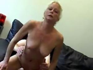 Granny Sucks Fucks And Swallows !