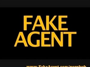 FakeAgent Hot blonde wants cock