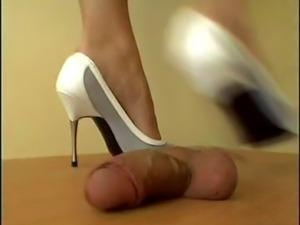 Mistress Arletta cock and ball crush