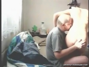 Old Man with 19 Year Old