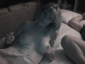 Slut wife talks with hubby after stranger fucks her cuckold
