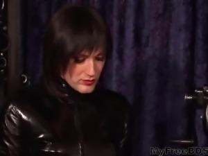 Sissy Ans Domina bdsm bondage slave femdom domination
