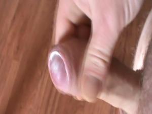 My creamy foreskin and sperm