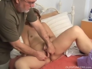 Cute MILF gets manhandled free