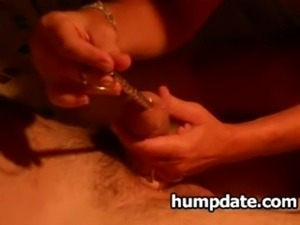 Wife gives hubby hot handjob wi ... free