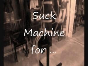 page in sucking machine