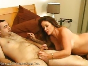 Mother asks not to cum in her