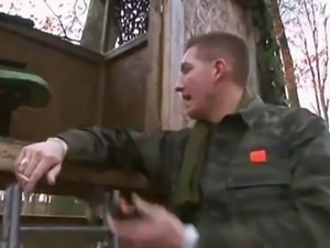 big titted blonde fucked by a soldier