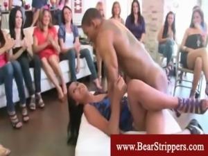 Naughty black stripper seduces  ... free