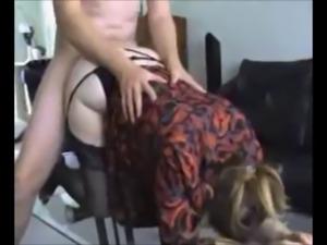 curvy milf in stockings banged on homemade