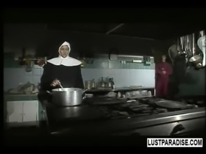 A nun having great sex free