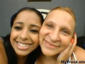 Vanussa And Nikki Kissing latina cumshots latin swallow brazilian mexican...