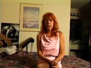 Mature Redhead Trudy True Sucks and Fucks