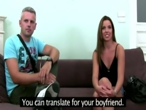 Couple does a casting for a bog ... free
