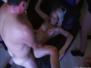 Czech,GangBang,Blonde