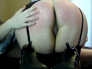 Trinity Pleasures: Punished and Ass Fucked Schoolgirl Slut