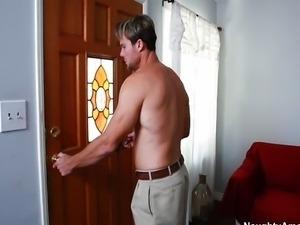Big Tit Blonde Bridgette B cheats on husband