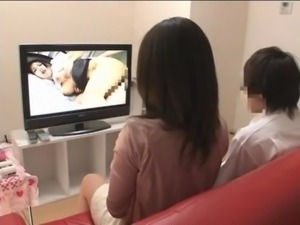 Mother and son watching porn together experiment - 3 free