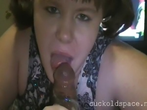 Sloppy Blowjob mouth explosion  swallow