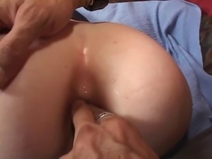 Blond sluts juicy pink cunt fucked