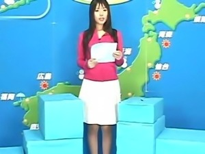 TV Weathergirl Facial on Live TV