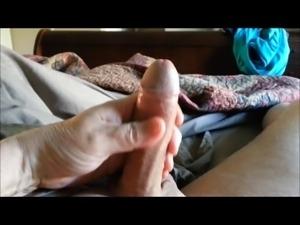 Finger docking with foreskin