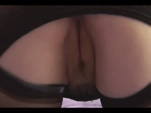 Curvy mature with hairy pussy in open girdle