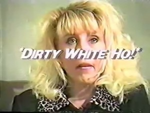 Dirty White Ho Beverly Hill's Really Horny