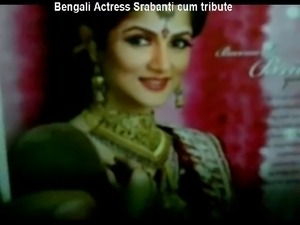 Bengali Actress Srabanti cum tribute