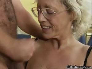 Nasty mature whores go crazy getting