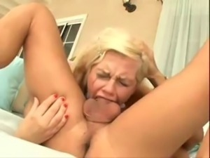 Tara Giving A Deepthroat Blowjob