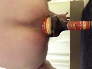 Extreme bottle insertion