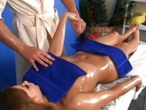 deep oral sex with a massage