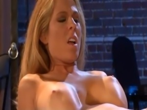 Horny prisoner Angela Attison is released for a ramming and a spurt of spunk...